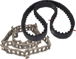 Scrubber Sweeper Replacement Belts, Chains Parts