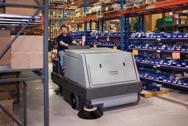 Advance 7765 Lp Sweeper Scrubber Rental Bortek