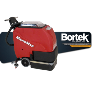 Factory Cat Micromag Walk-Behind Industrial Automatic Floor Scrubber