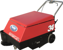 Factory Cat Model 34 Walk-Behind Electric Floor Sweeper