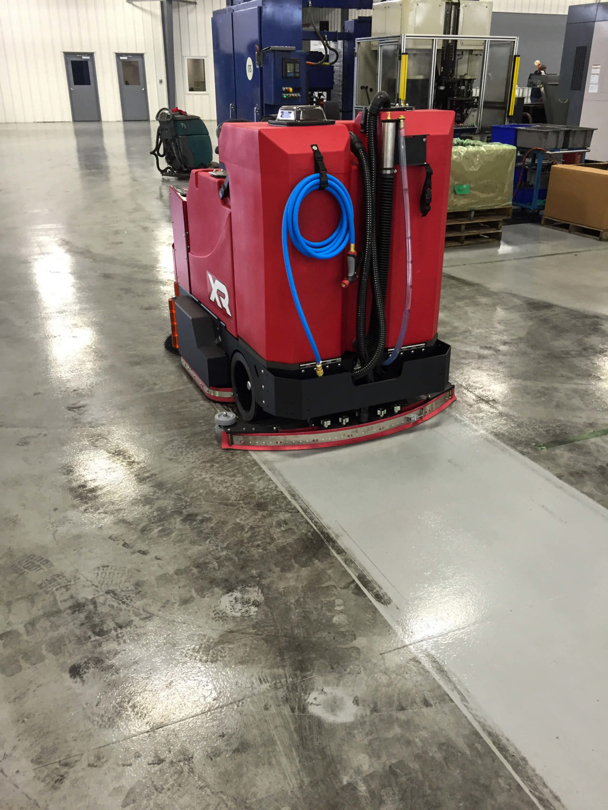 Factory Cat XR Scrubber-Sweeper