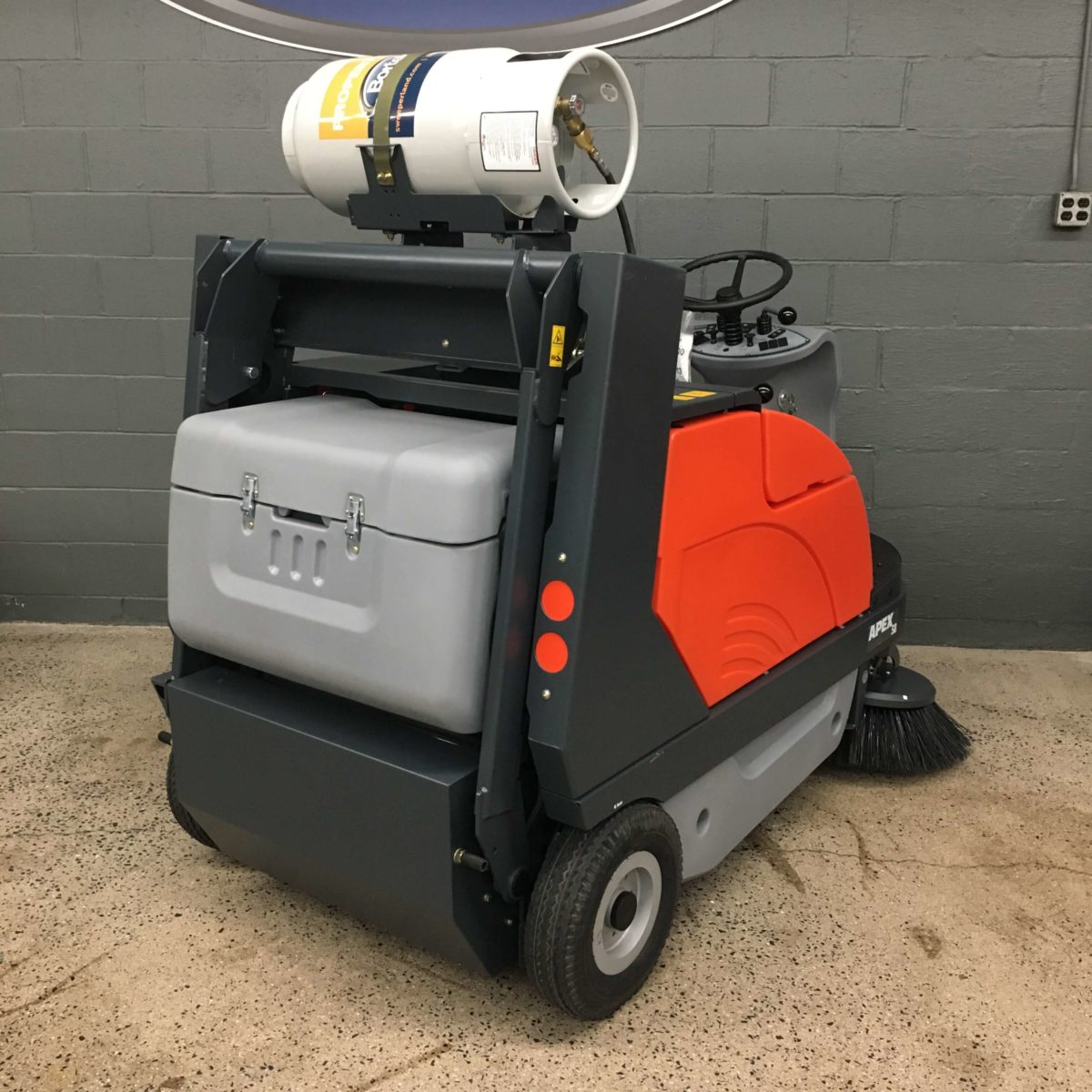PowerBoss Apex 58 Floor Sweeper Rear