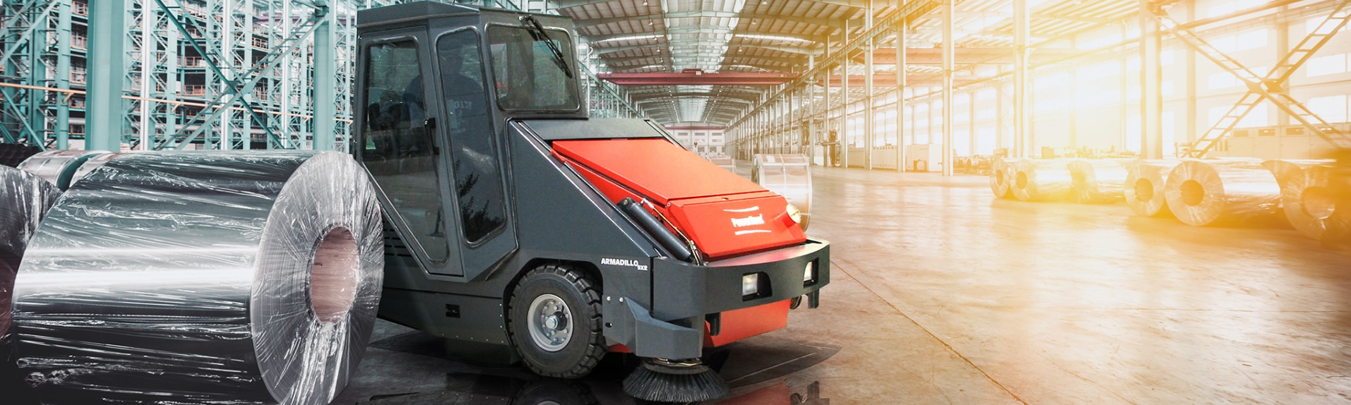 PowerBoss Armadillo 9X Sweeper Features Overview