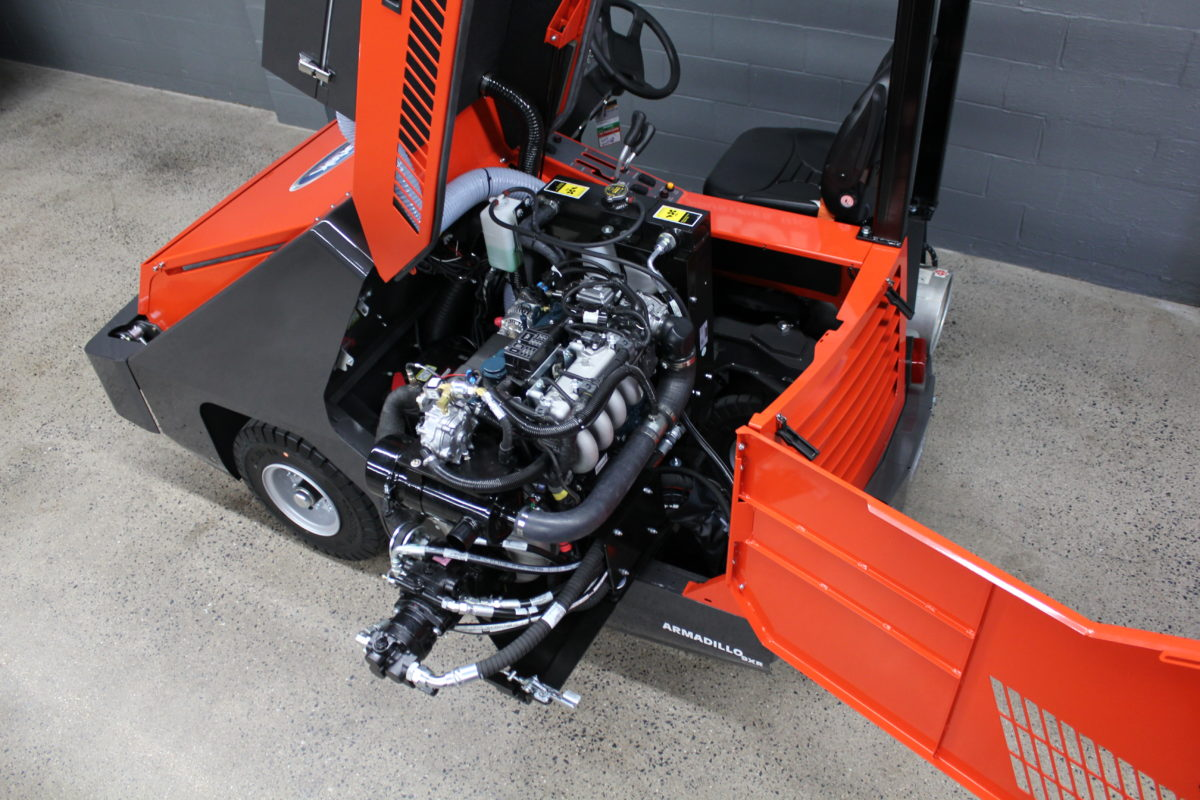 PowerBoss Armadillo 9X Sweeper Engine