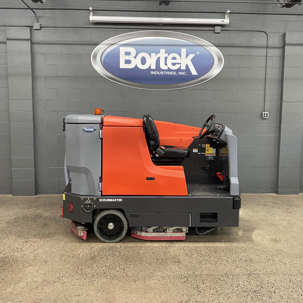 Battery Powered PowerBoss Nautilus Scrubber-Sweeper