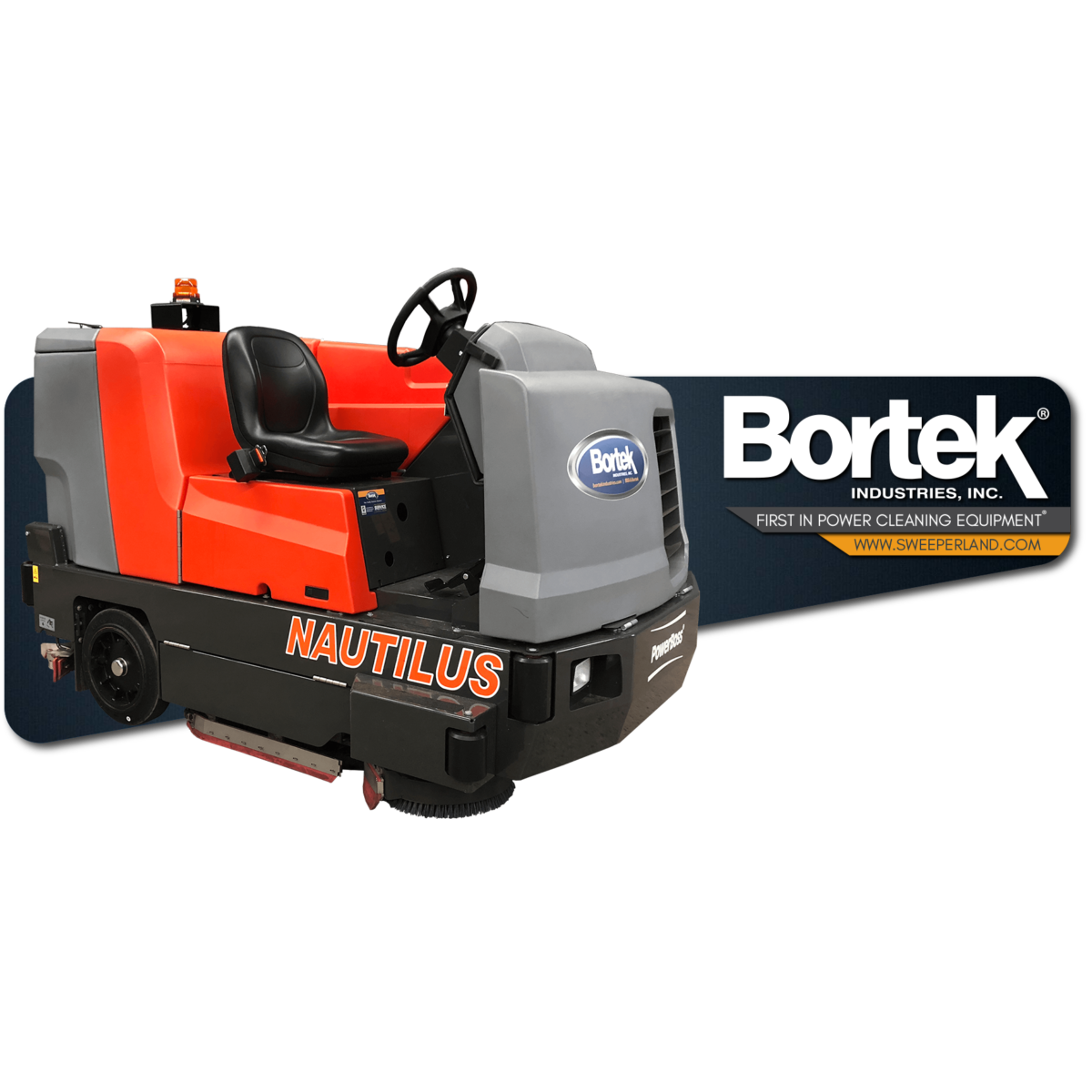 PowerBoss Nautilus Ride-On Scrubber/Sweeper Rental