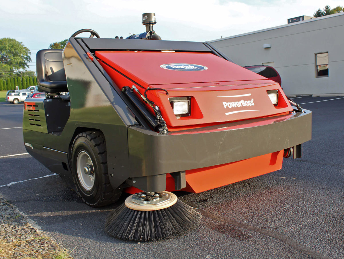 PowerBoss Armadillo 10X Sweeper