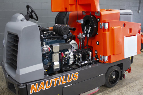 PowerBoss Nautilus Scrubber Sweeper Engine