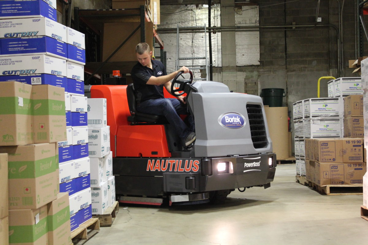 PowerBoss Nautilus Industrial Floor Scrubber