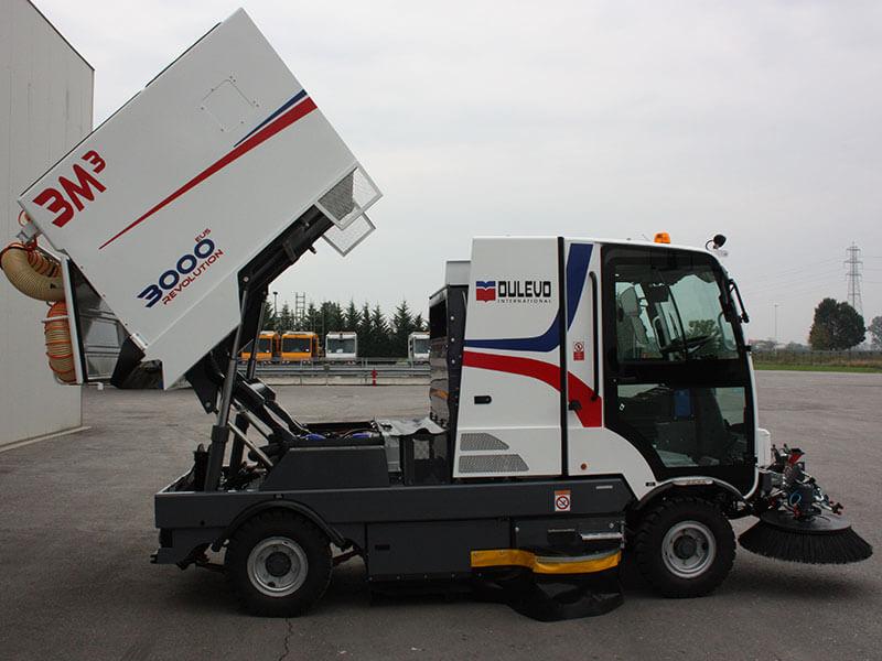 Dulevo 3000 Revolution Street Sweeper Bortek Industries Inc