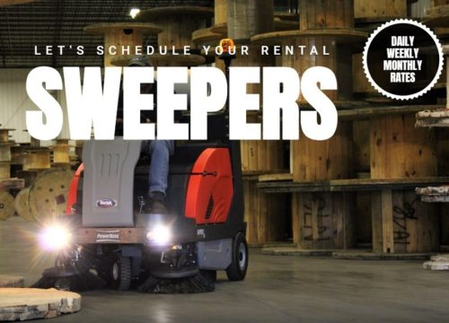 Rent Your Industrial Floor Sweeper