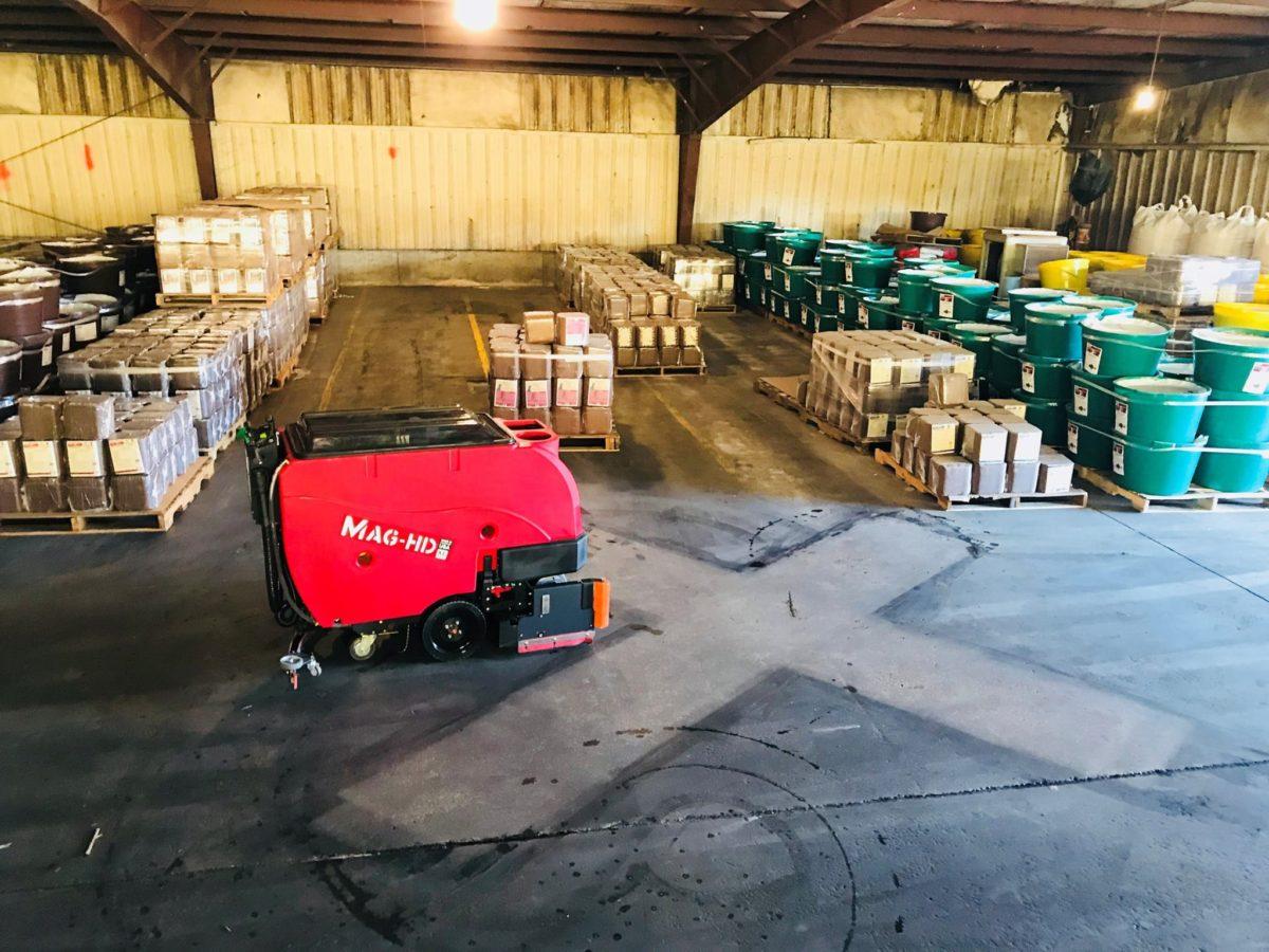 Factory Cat MagHD Floor Scrubber- Demo -Bortek Industries Inc