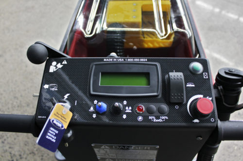 Factory Cat Mini-HD Scrubber Control Panel