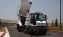 Global M4 Street Sweeper Raised Hopper