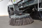 Global Environmental R3 Three Wheeled Street Sweeper- side broom