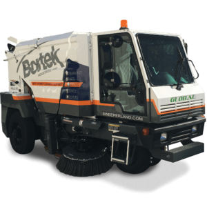 Global M3 Street Sweeper - Bortek Industries, Inc.