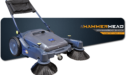 Hammerhead 950MS Manual Walk-Behind Sweeper Rental
