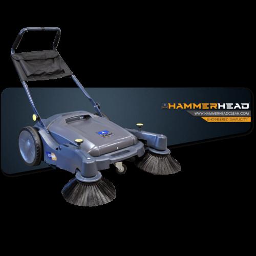 Hammerhead 950MS Manual Walk-Behind Sweeper Rental