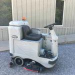 Advance-Adgressor-3220C-Rider-Scrubber-Cylindrical-Scrub-Deck-Front-Side