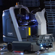 Advance SC6000 Disc Cylindrical Floor Scrubber Sweeper- Battery Powered