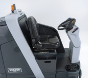Advance SC6000- Rider Scrubber Disc and Cylindrical Operators seat