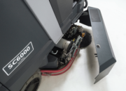 Advance SC6000- Rider Scrubber Disc and Cylindrical tool free scrub deck access