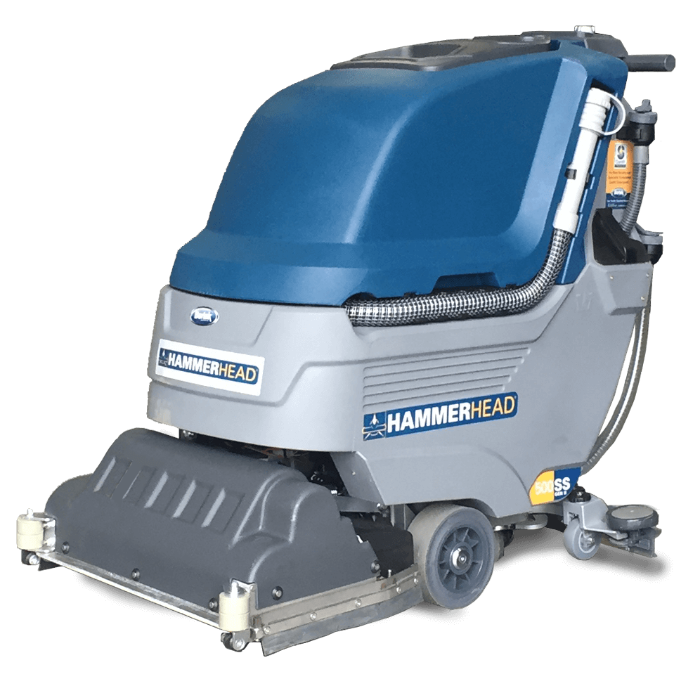Hammerhead 500ss gen ii floor scrubber bortek industries for Floor scrubber