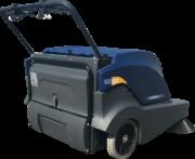 Hammerhead 900SX- Walk Behind Battery Powered Sweeper- Rear Right Side