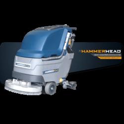 hammerhead 500rsx walk-behind scrubber