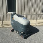 Pre-owned Used Advance Convertamatic 28C- Cylindrical Battery Powered Walk Behind Floor Scrubber- Main Image