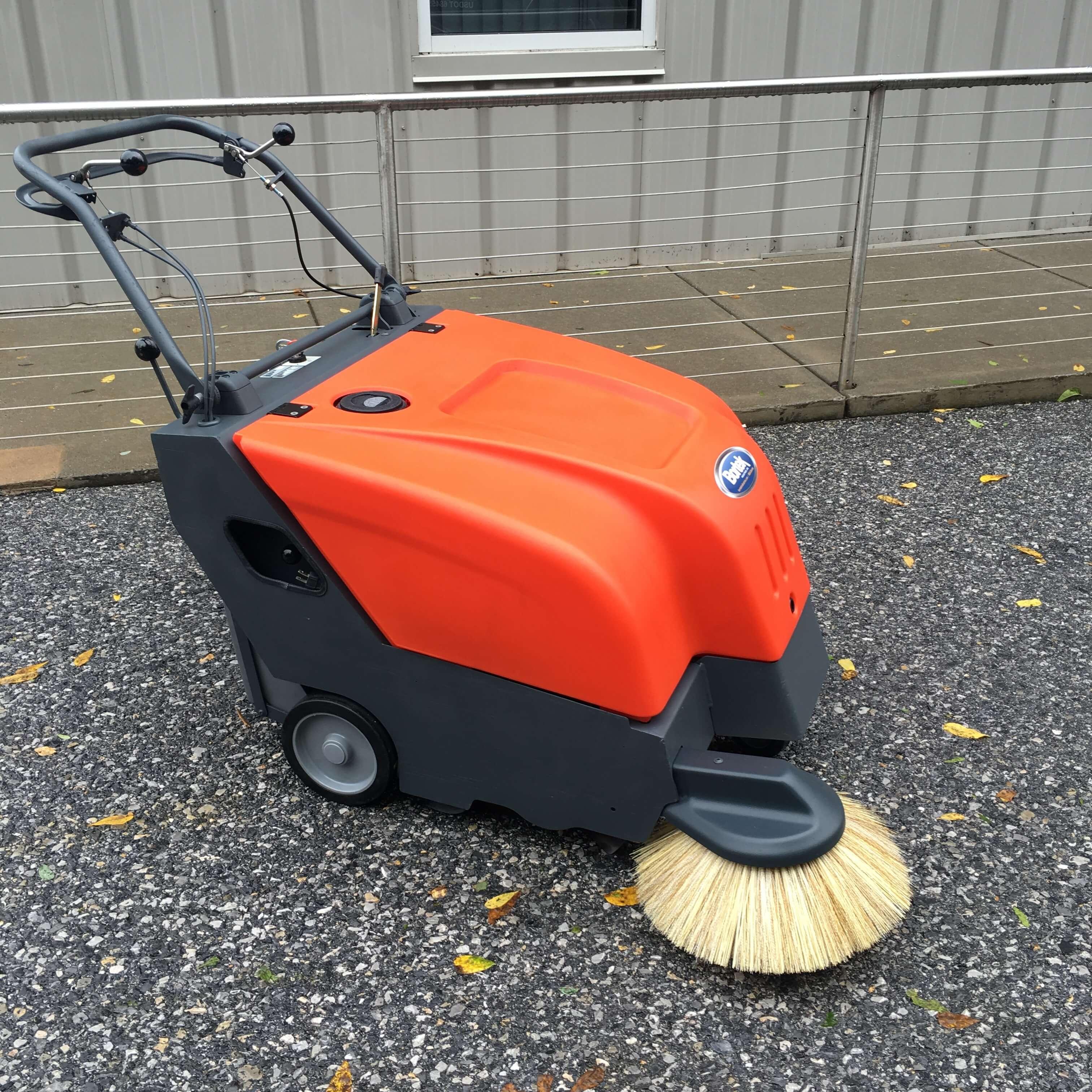 Battery Powered Industrial Floor Sweepers - Carpet Vidalondon
