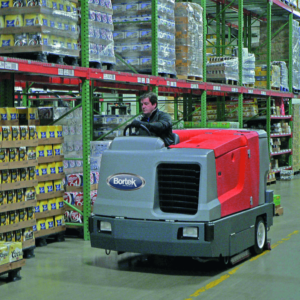 How To Clean A Warehouse Bortek Industries Inc - Warehouse floor cleaner rental