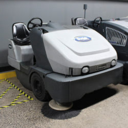 Used Advance Exterra 6340LP Sweeper