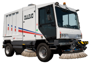 Dulevo 5000 Evolution Vacuum-Assisted Street Sweeper - Bortek Industries, Inc.