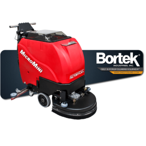 FactoryCat MicoMini Battery-Powered Walk-Behind Scrubber