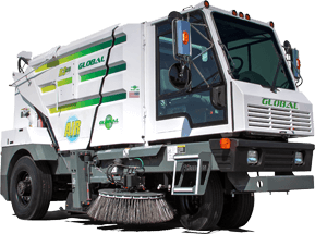Global R3Air Street Sweeper