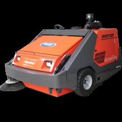 PowerBoss Armadillo 10X Ride-On Sweeper