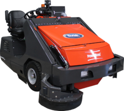 PowerBoss Armadillo 9XR Ride-On Sweeper