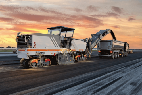 Milling Highway Sweeper