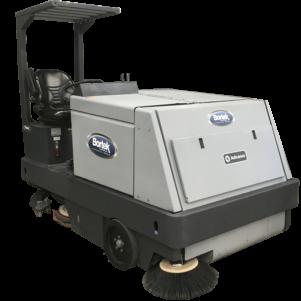 Industrial Floor Scrubber Rentals Bortek Industries - Warehouse floor scrubber rental