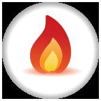 Hot Shot floor stripper chemical icon - Bortek Industries, Inc.