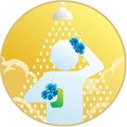 Ultra Hair & Body liquid soap shampoo chemical icon - Bortek Industries, Inc.