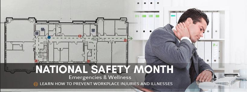 National Safety Month: Emergencies & Wellness