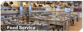Order Food Service Industry Supplies and Cleaning Products