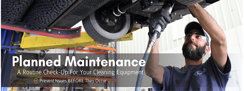 Planned Maintenance: A Routine Check-Up for Your Cleaning Equipment