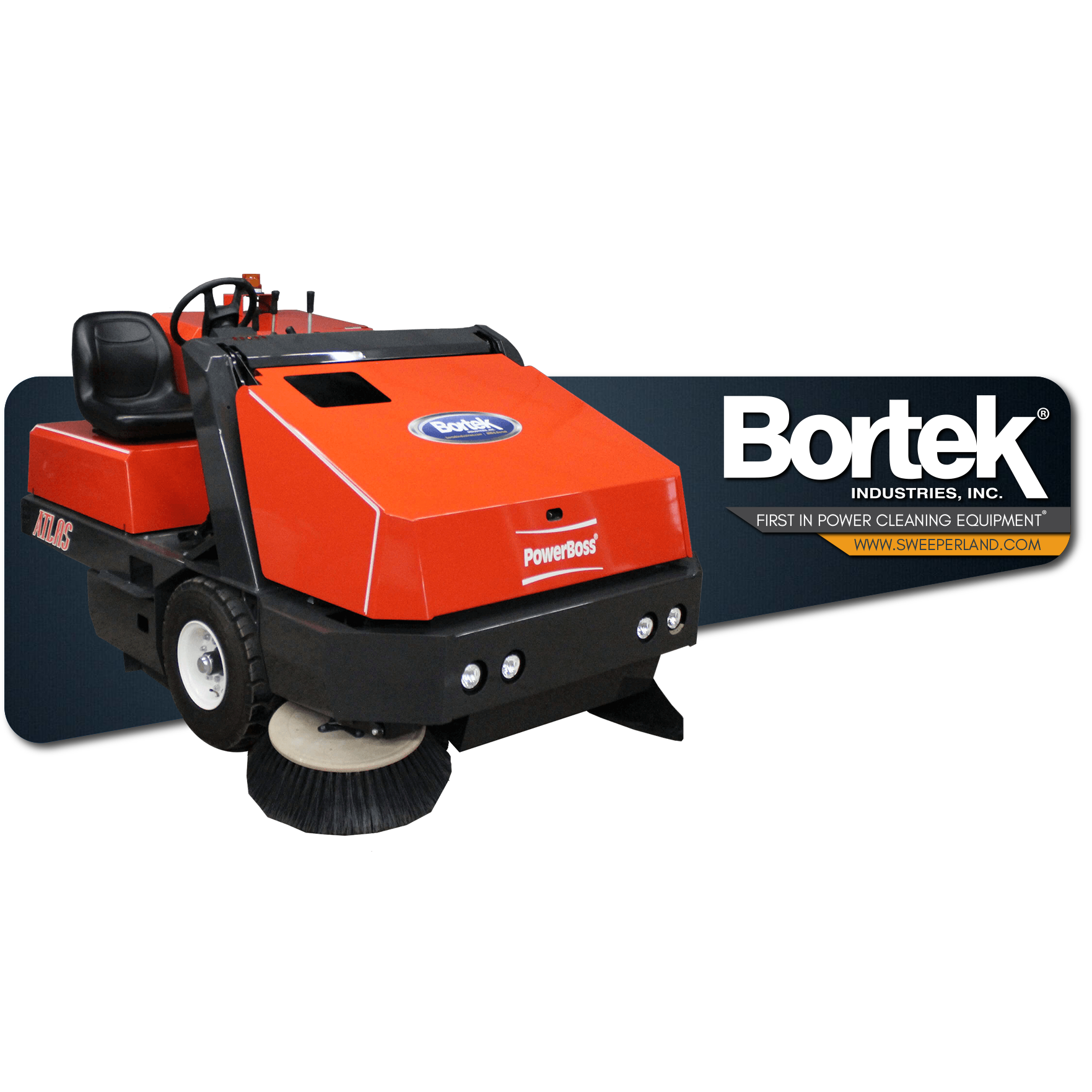 PowerBoss Atlas Floor Sweeper