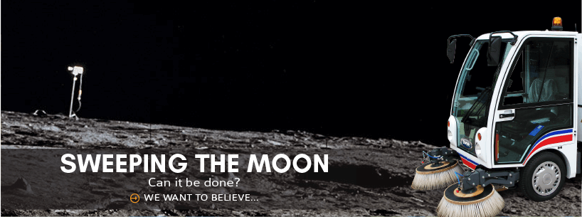 Sweeping the Moon – Can it be done?