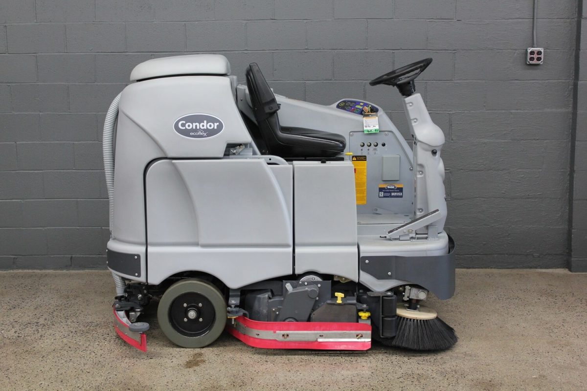 Used Advance Condor Scrubber Side View