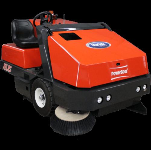 Powerboss Atlas Rider Floor Sweeper - Buy New Sweepers