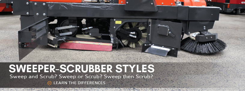 Sweeper-Scrubber Styles